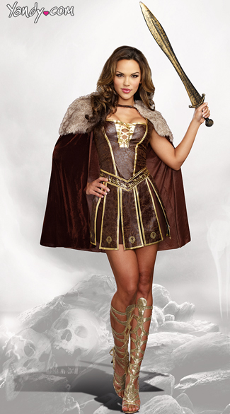 adult plus warrior costume Viking