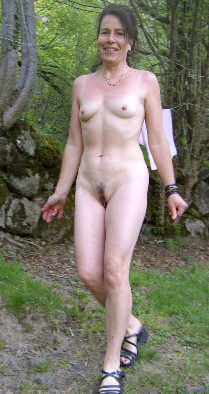 the Nudist woods in family