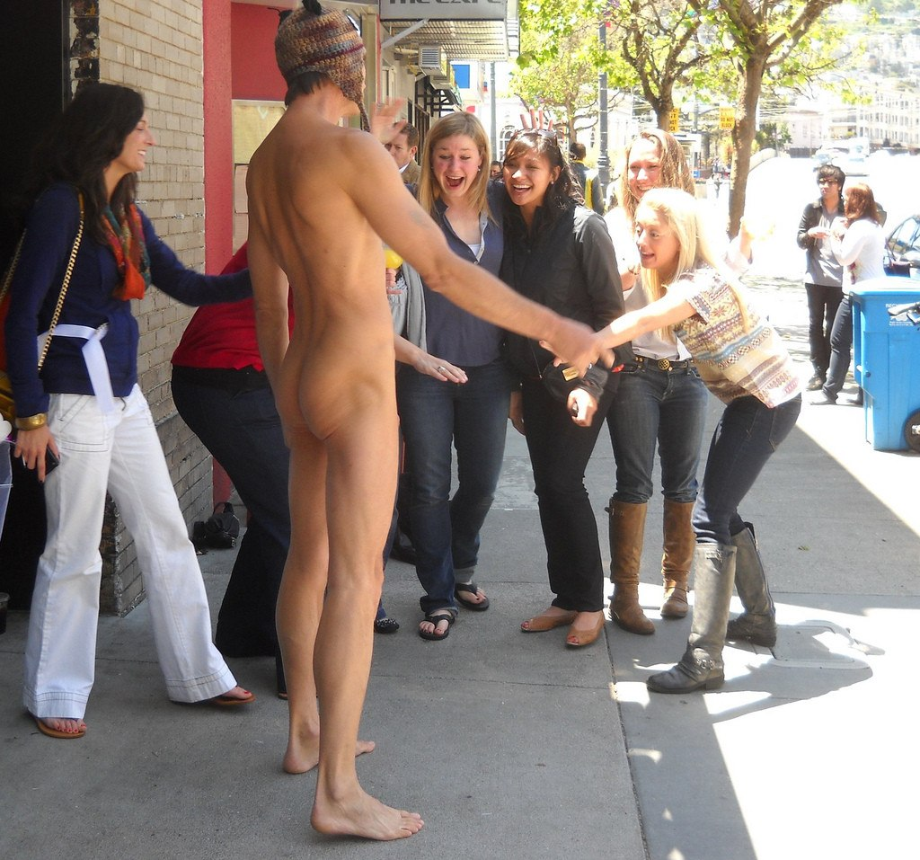 view Nude in public
