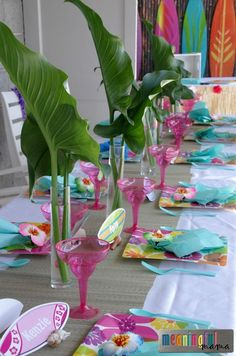 for adults a luau Planning
