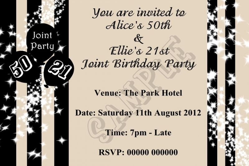 party invites Adult