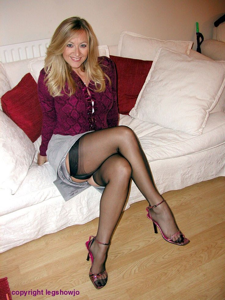 wearing Sexy heels high women mature