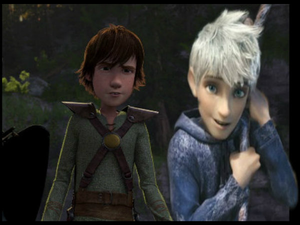 and Jack hiccup porn frost