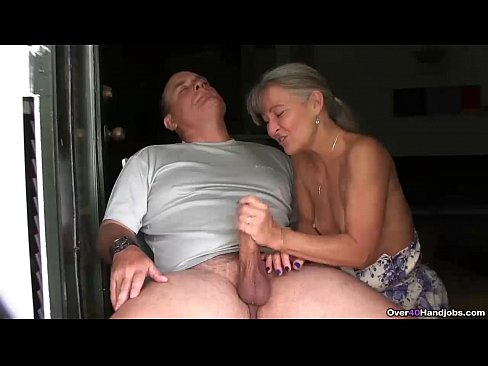 handjob Young couple