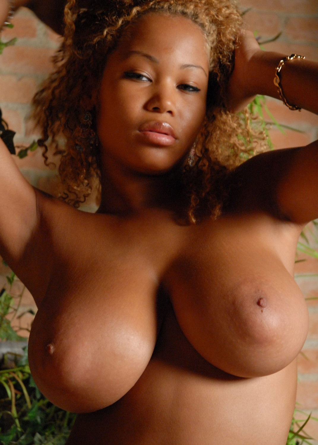 Big boobs pics with nude black girls