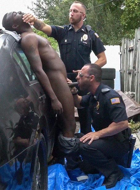 police porno gay