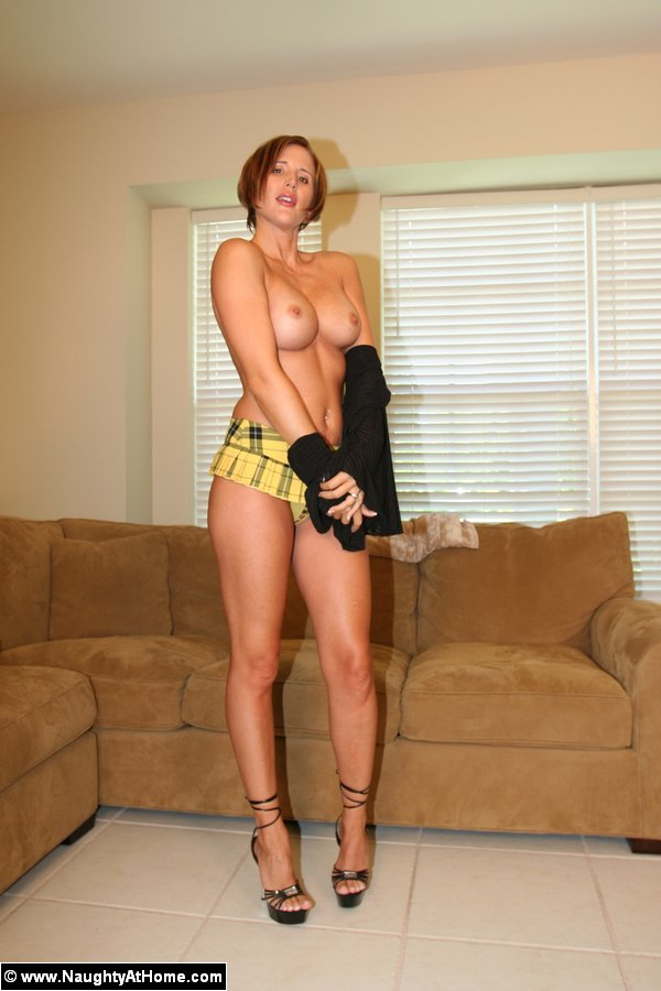 mom in short skirt Naughty
