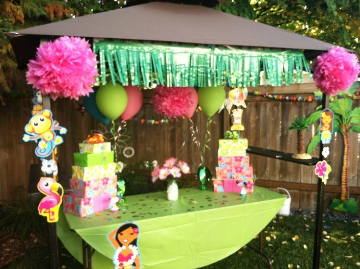 for luau adults a Planning