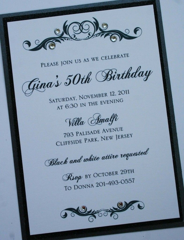invites Adult party
