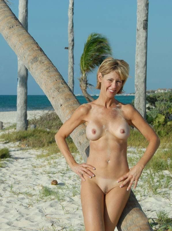 nude girl Florida beach