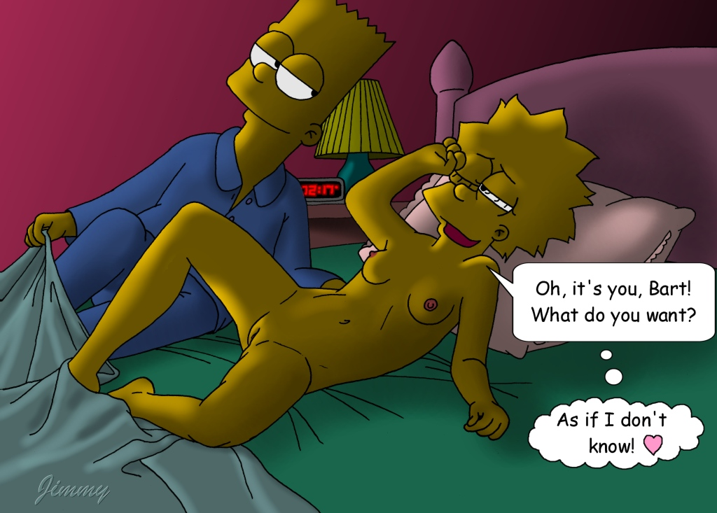 lisa and bart hentai comic young