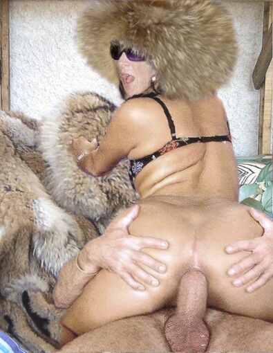 fur coat porn Shemale