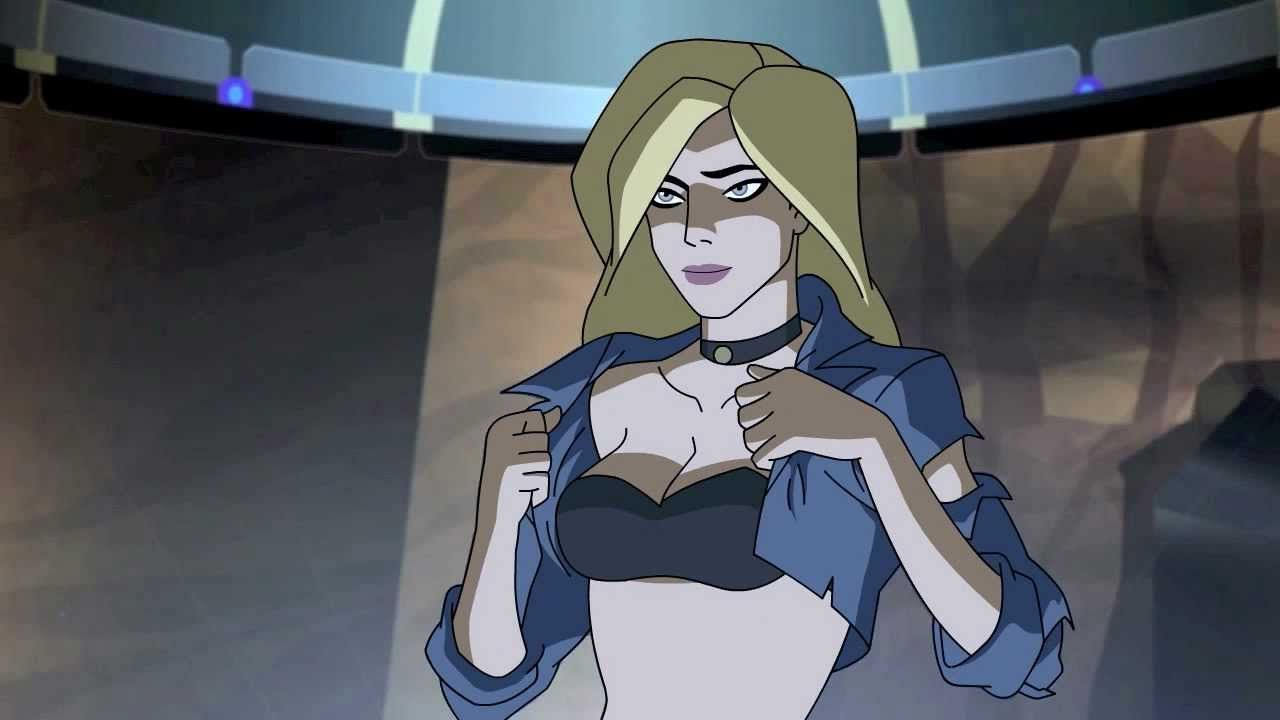 black canary naked
