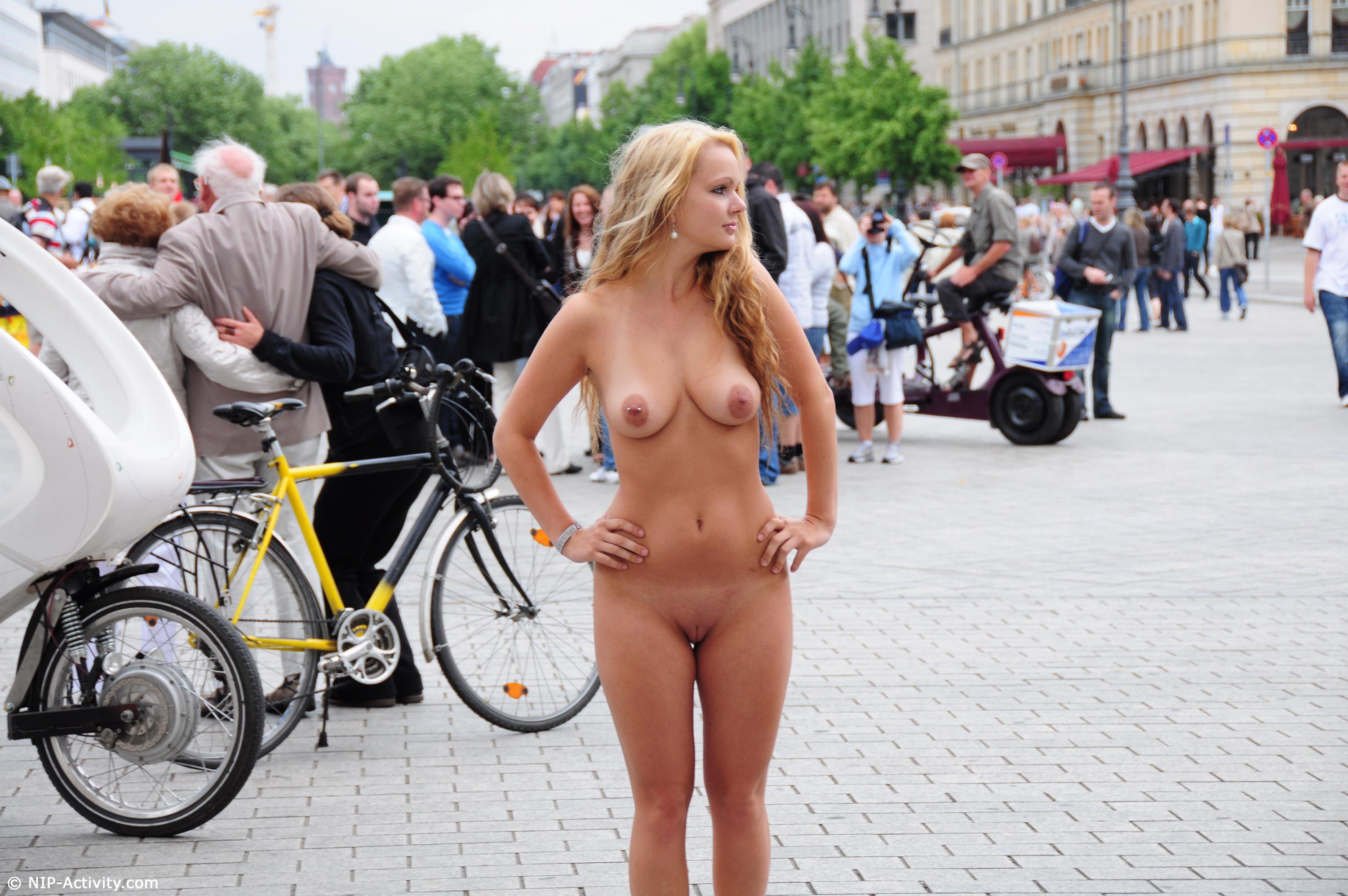 in nude activity public Nip