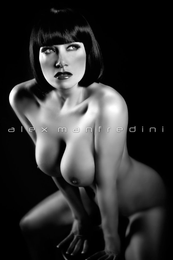 woman nudes Black and white artistic