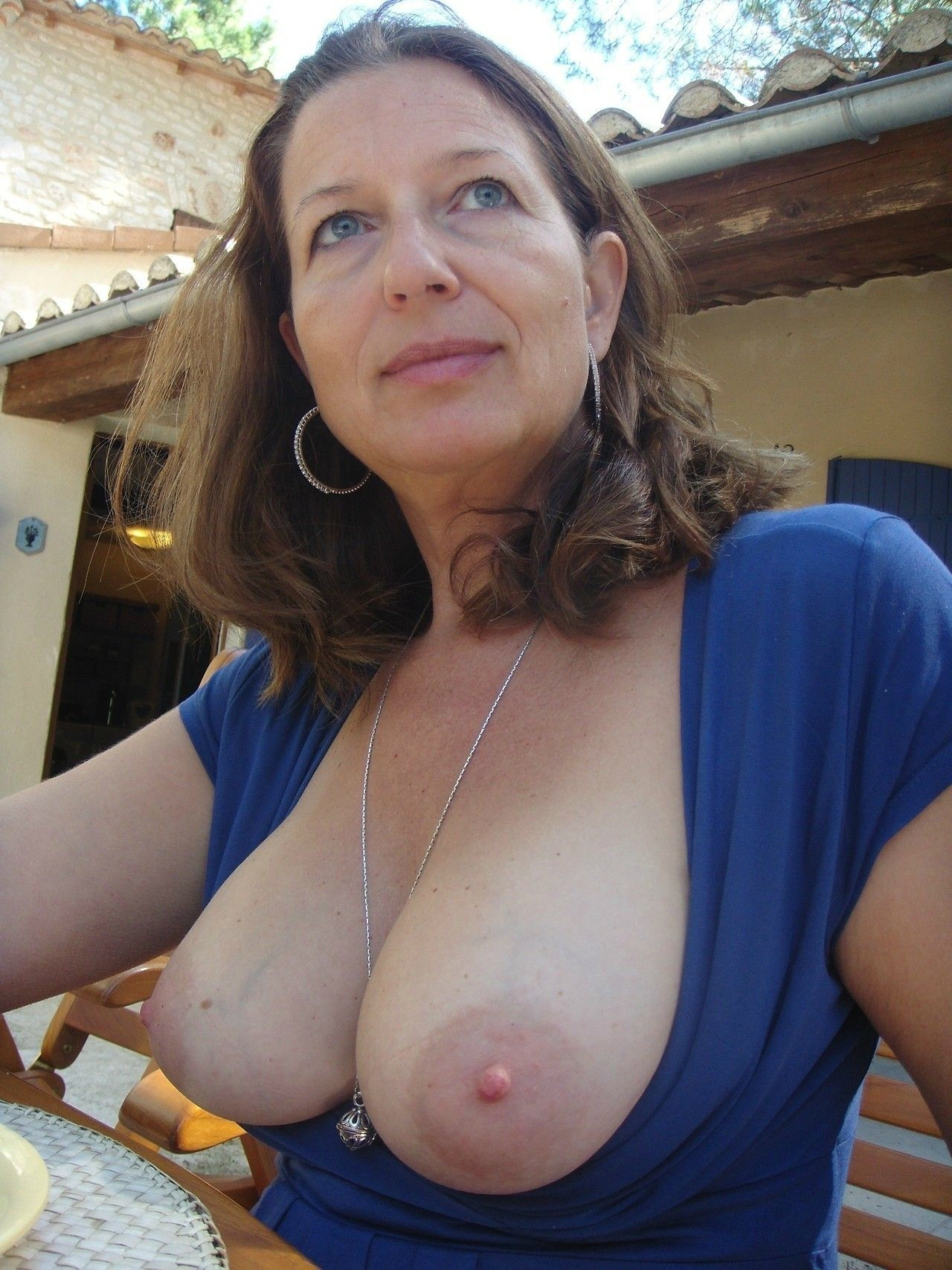 milfy boobs Mature melon