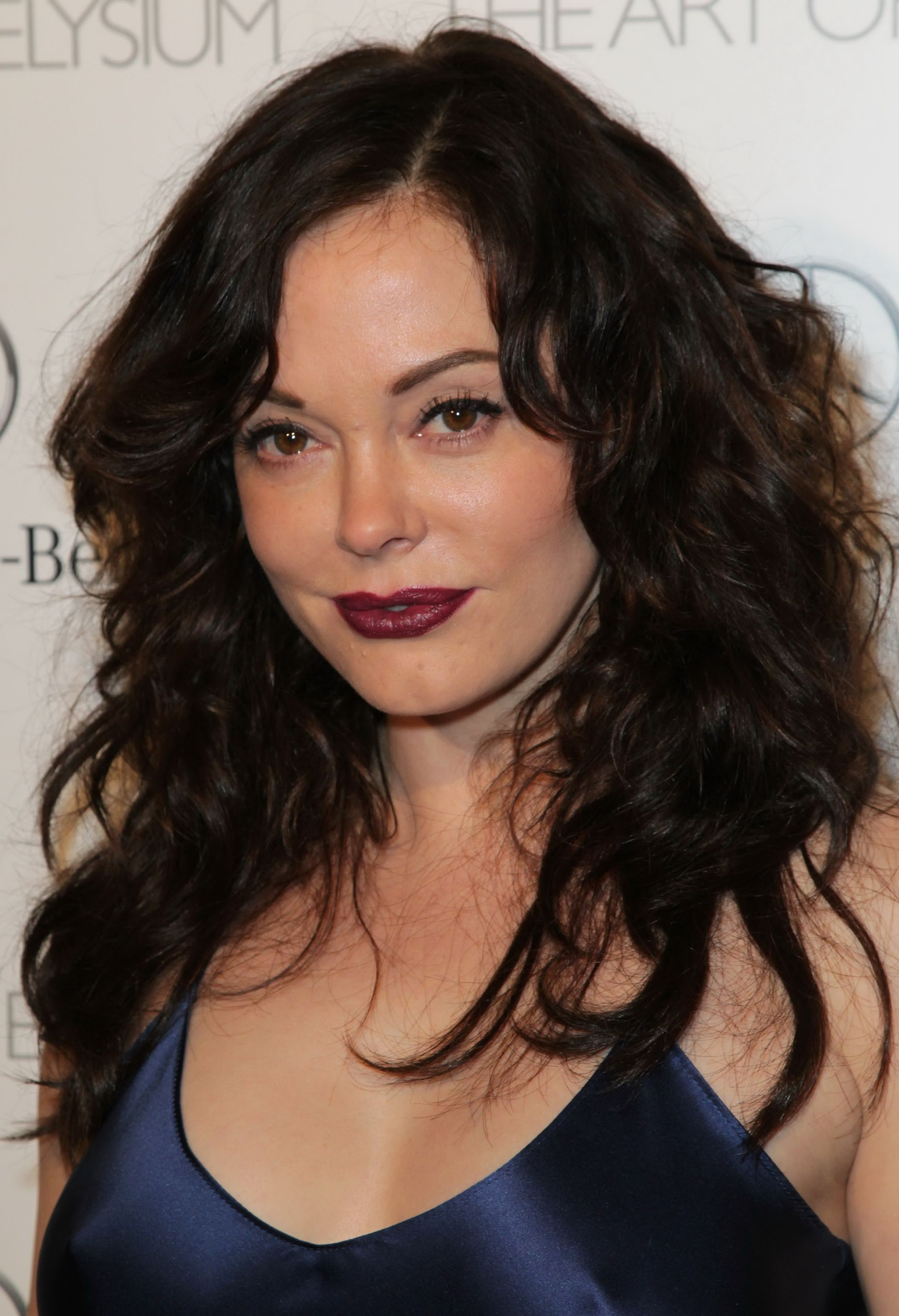 hair Rose mcgowan