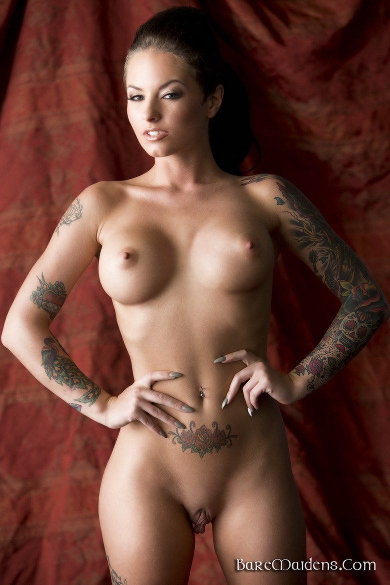 tattoos with body women Nude full
