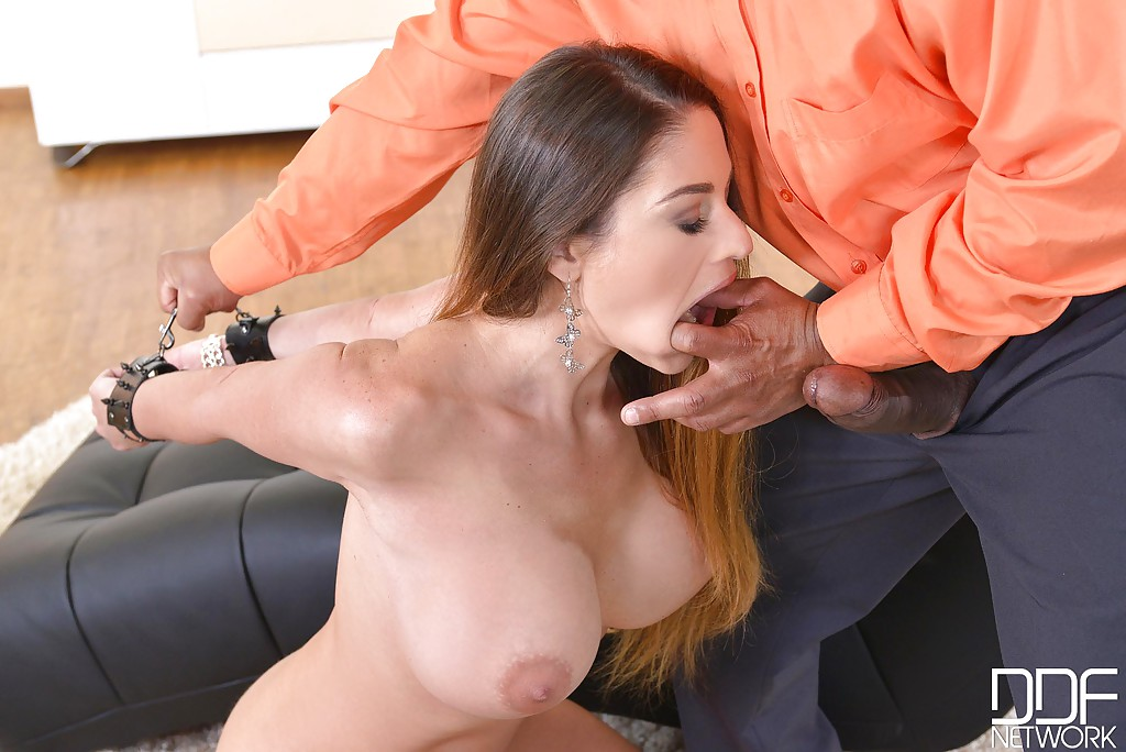 big deepthroat Forced cock