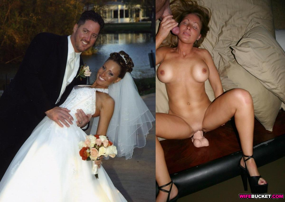 after before Wife naked