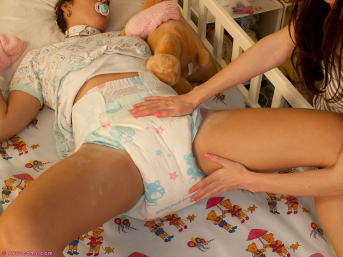 fetish changing diaper Adult baby