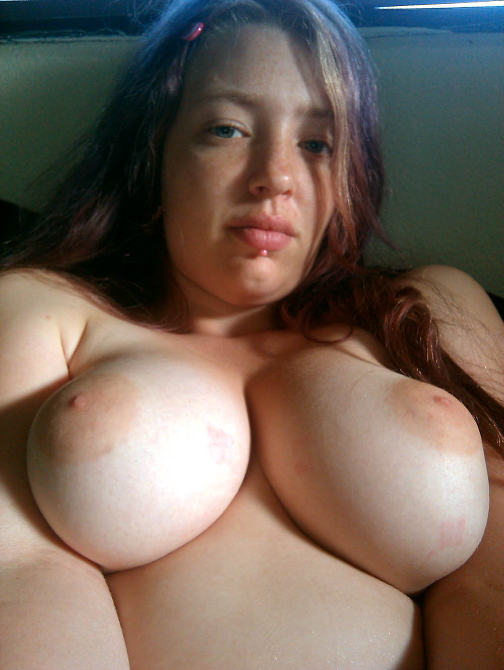 breasted Natural latina big