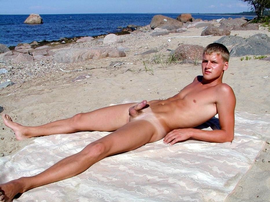 in nude beaches Naked men