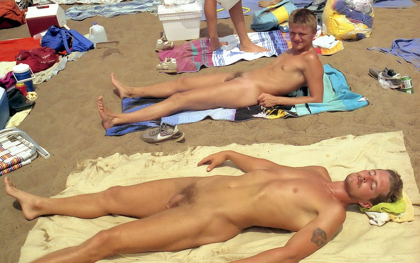 beaches Naked men in nude