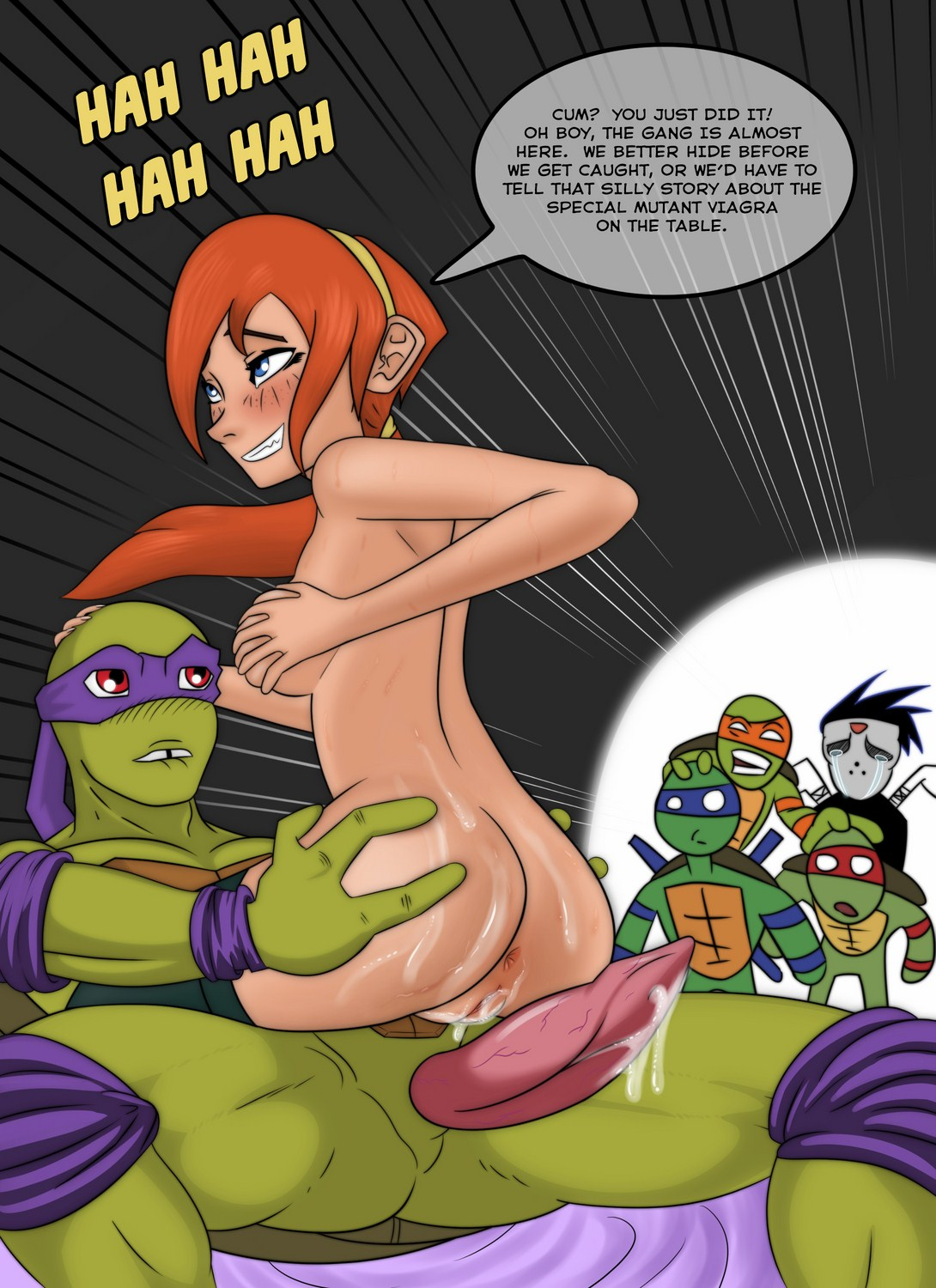 Gallery For Nothing -Tmnt Porn Cartoons-4386