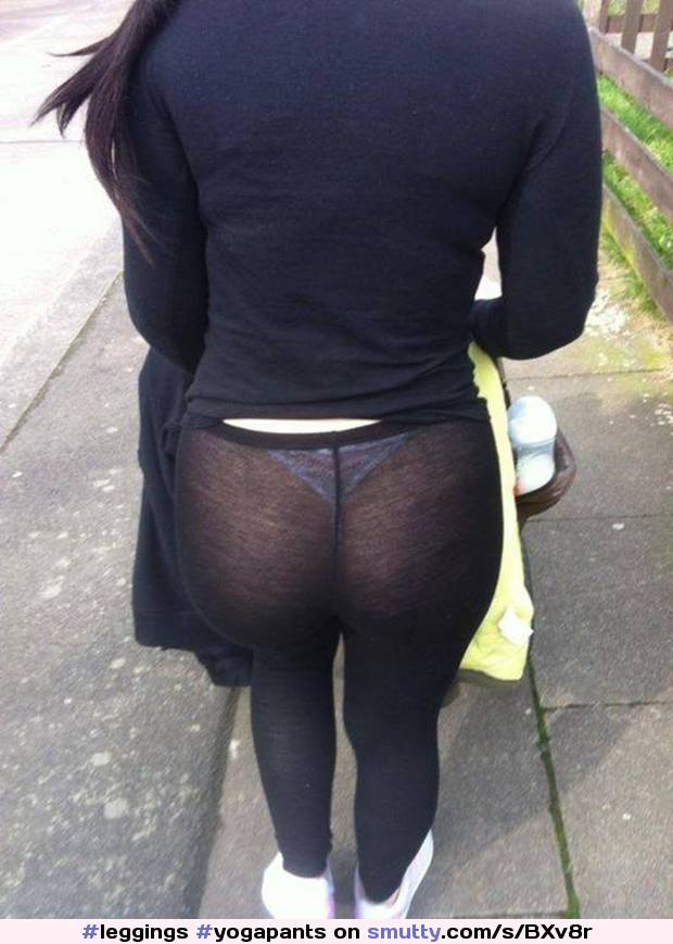 ass thong leggings Candid