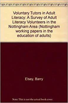 literacy volunteer Adult