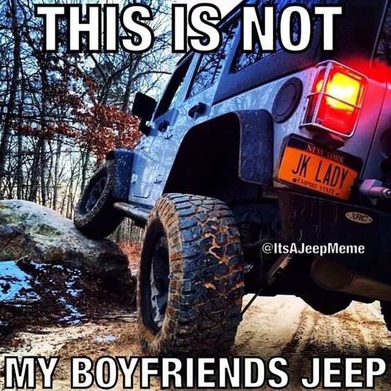 meme Jeep girl