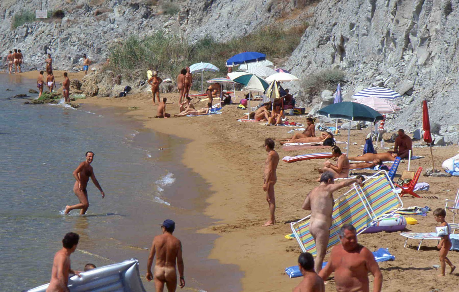 men in nude beaches Naked