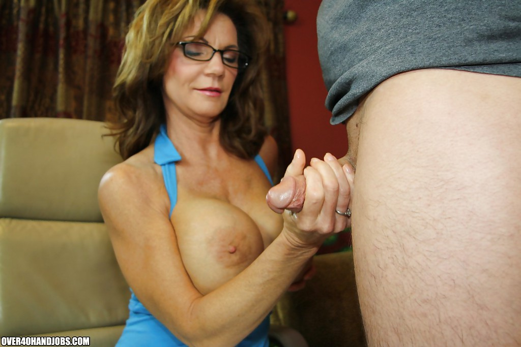 lady hand job movie Old