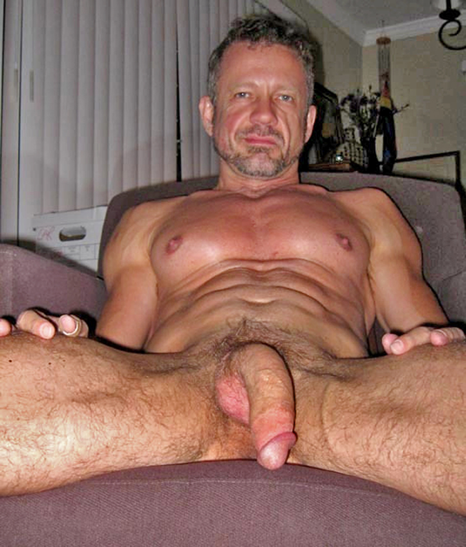 sexy hot old man very nude