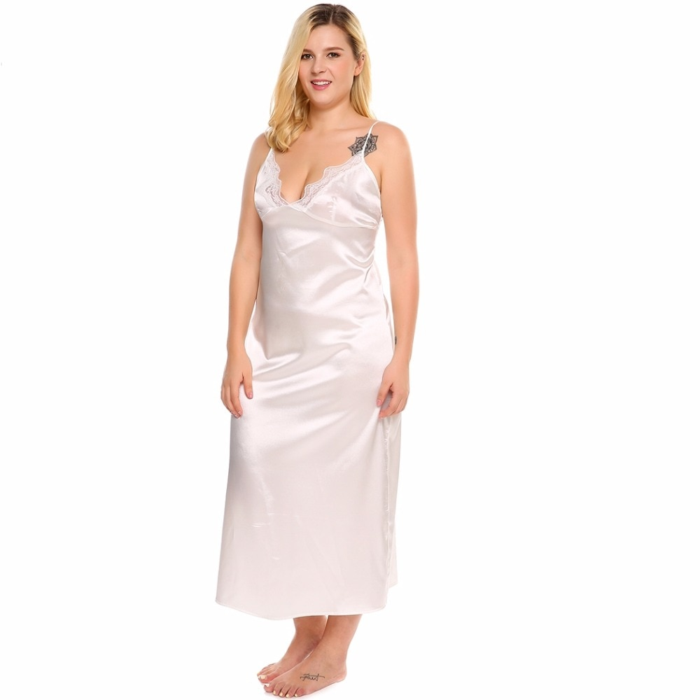 dresses white Sexy size for women plus