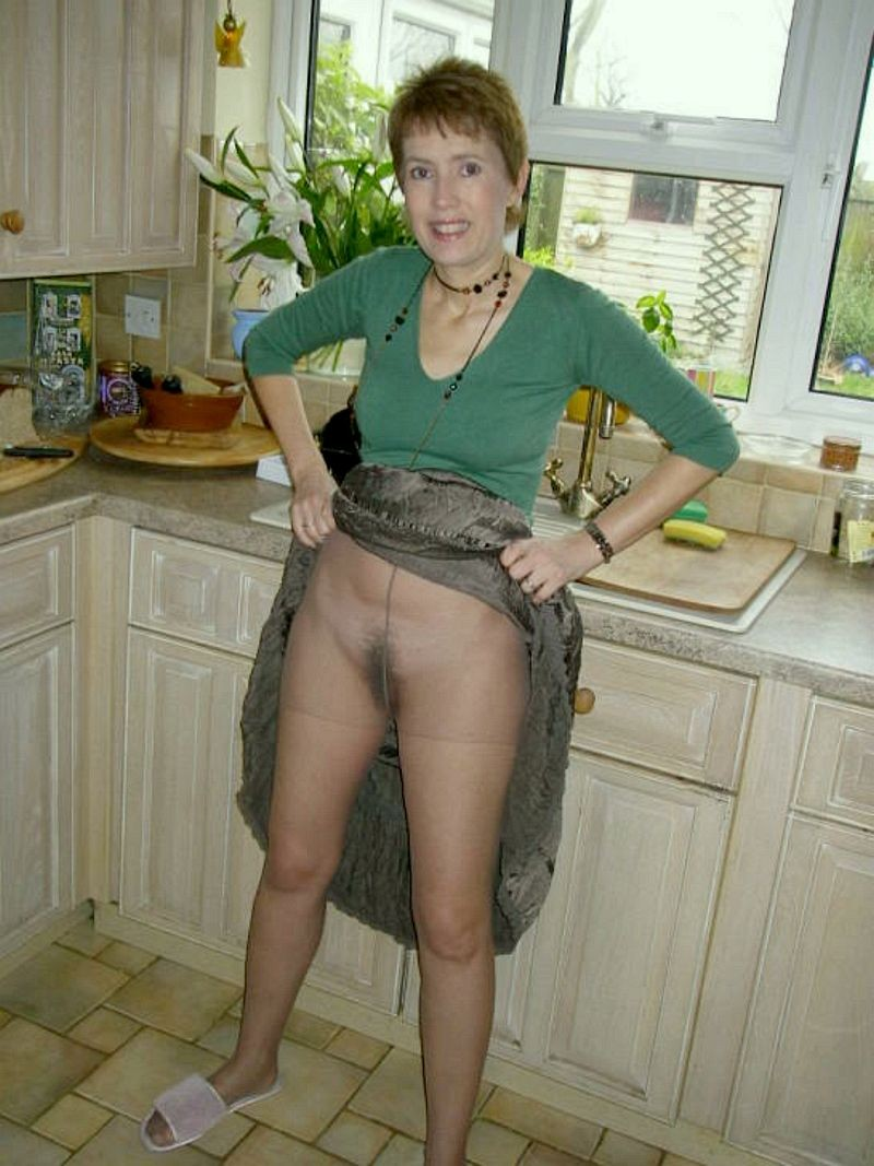 blonde milf upskirt Mature