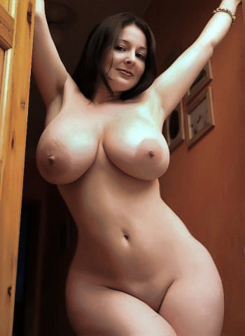 women nude Perfect hourglass