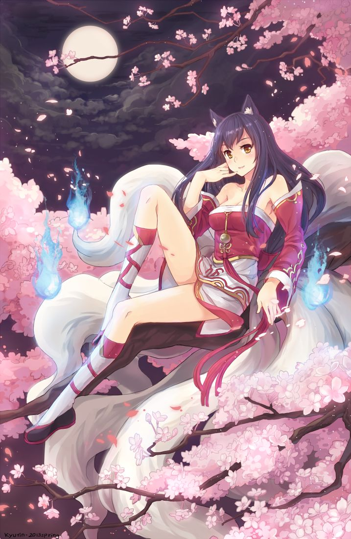ahri league legends Anime