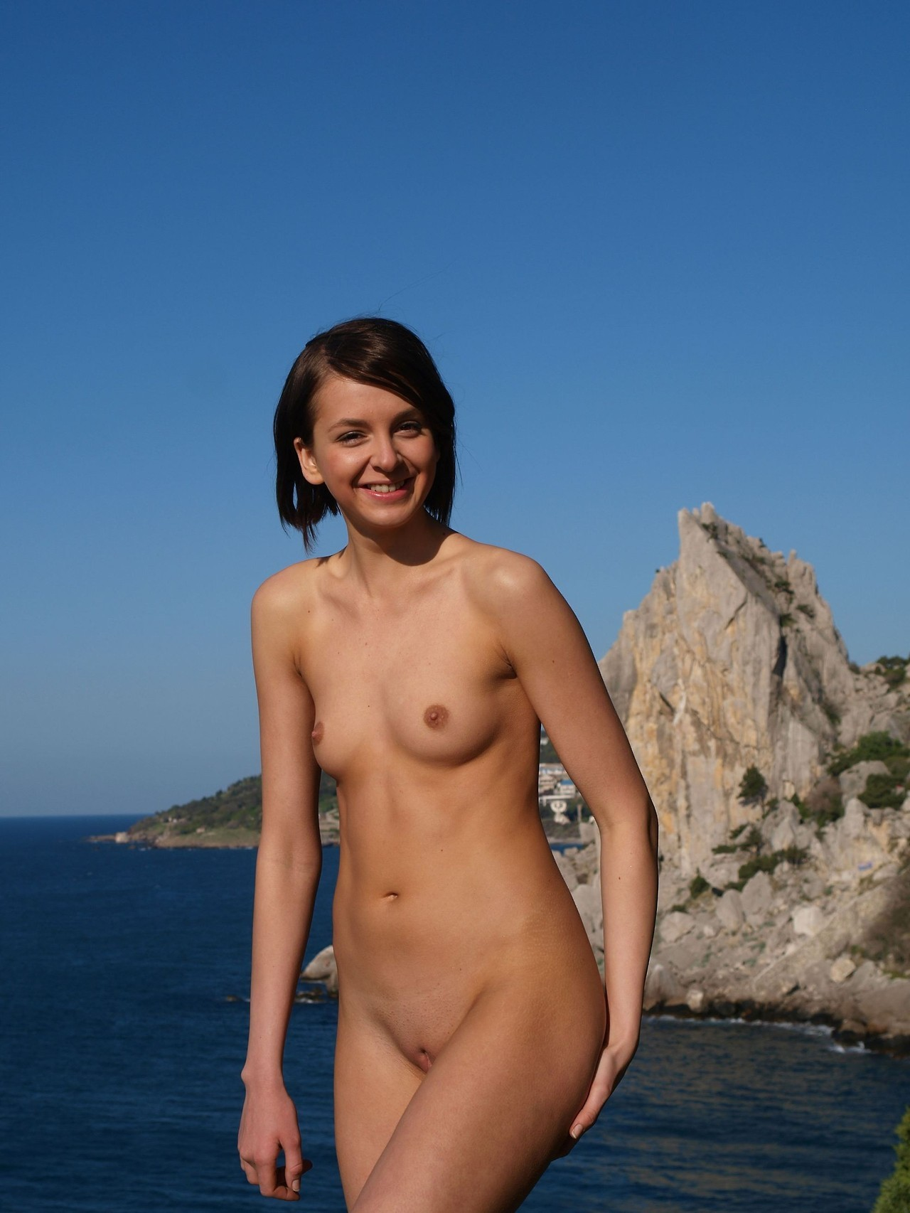 beach Ukraine girls topless