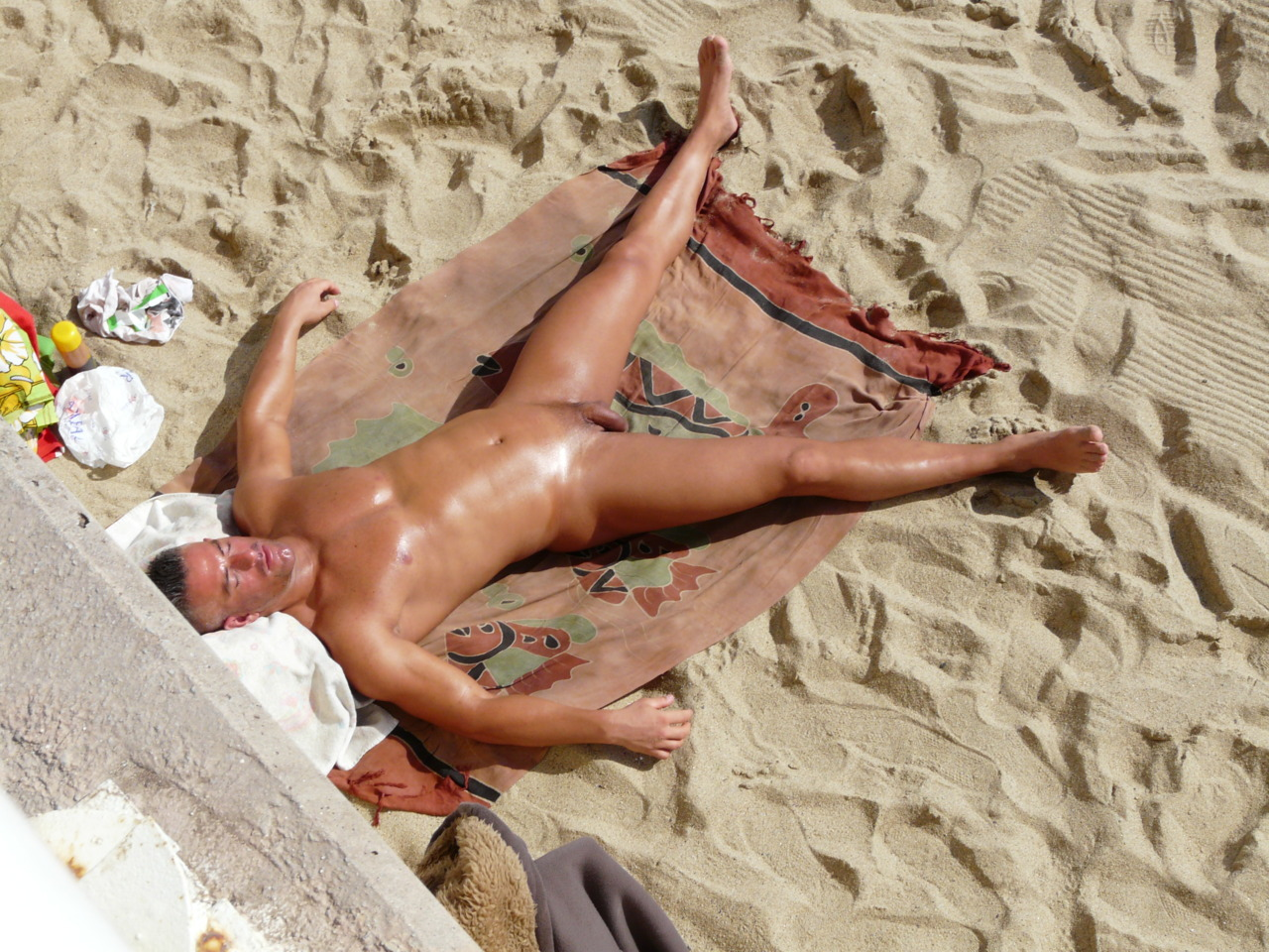 men nude beaches in Naked