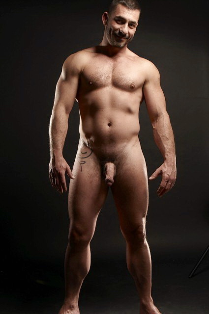 nude Naked rugged men