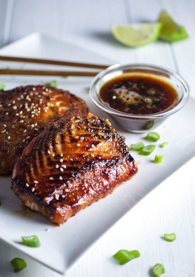 ginger Asian honey marinade