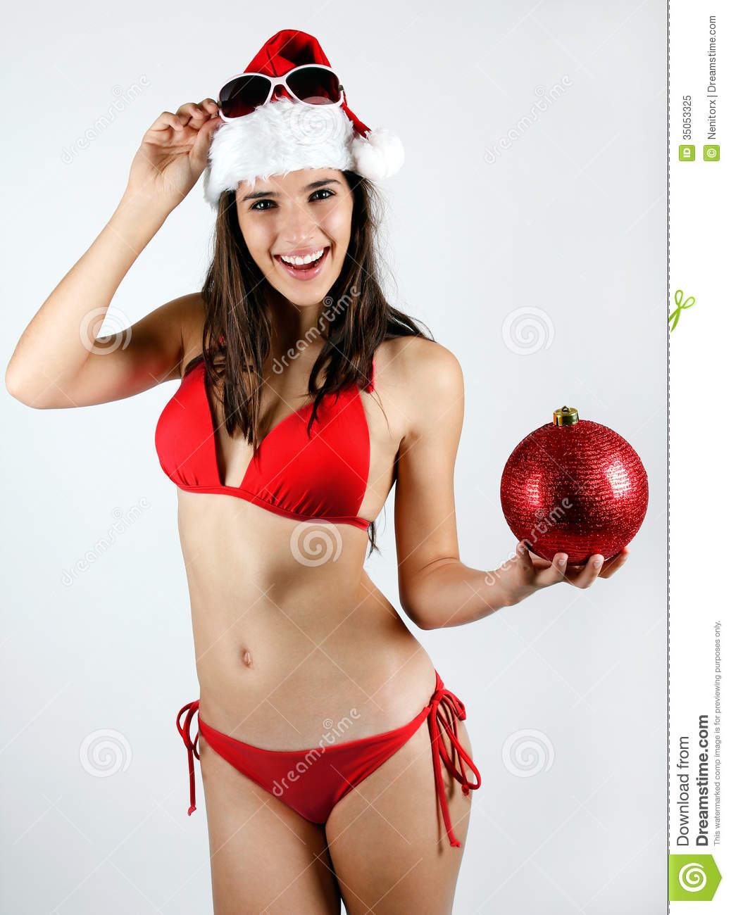 christmas girl santa Hot
