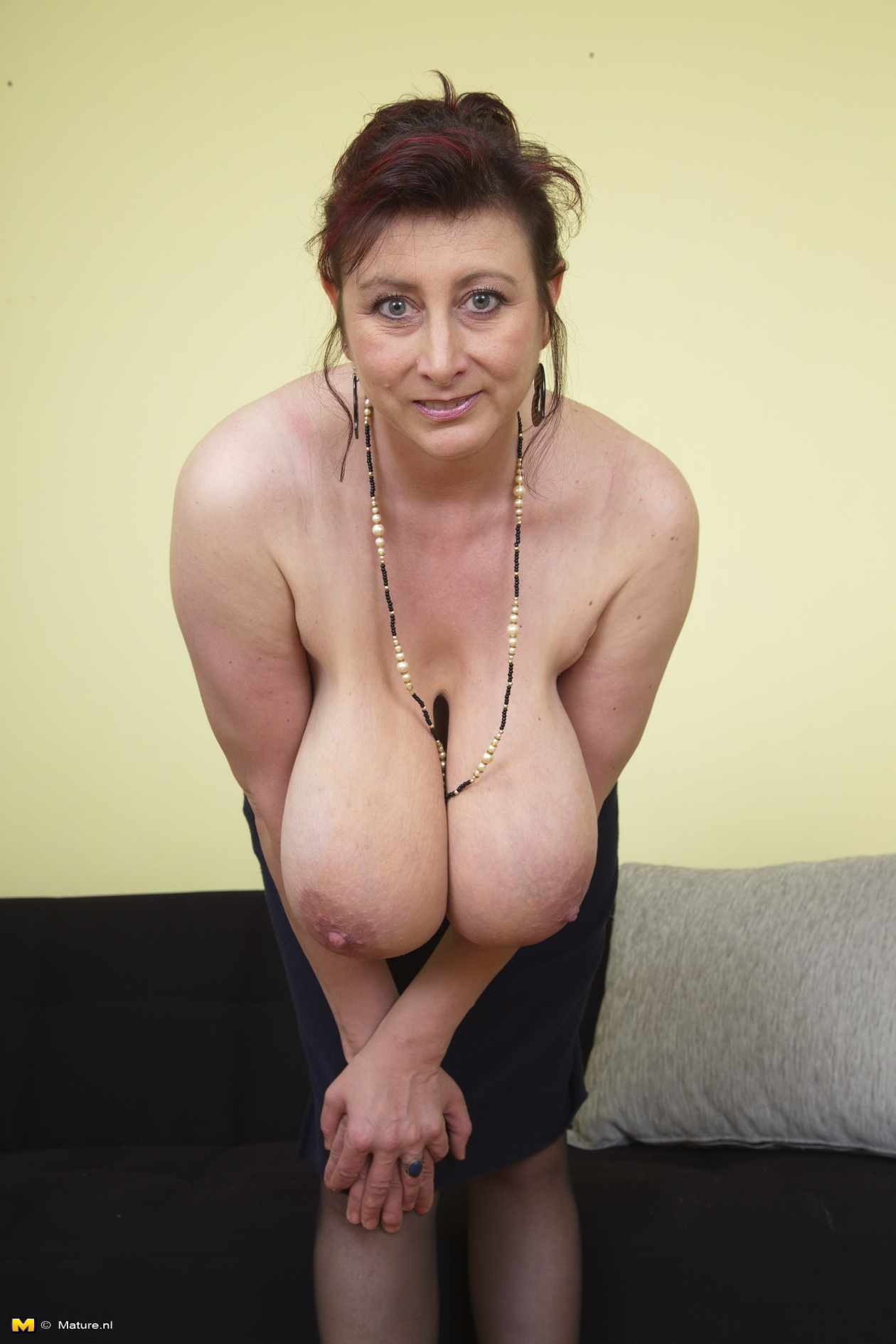 hairy pussy spread tits Mature big