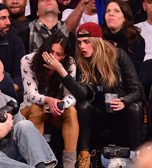 delevingne and Michelle rodriguez cara