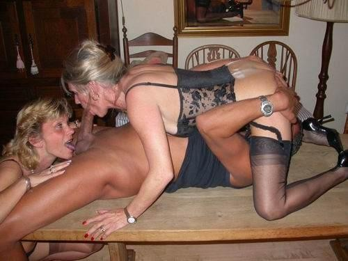 party at in Wife panties