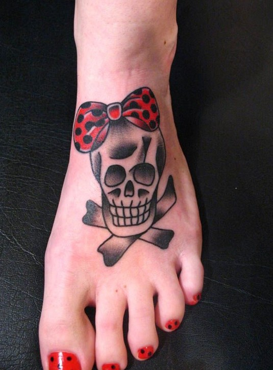 tattoo Cute skull