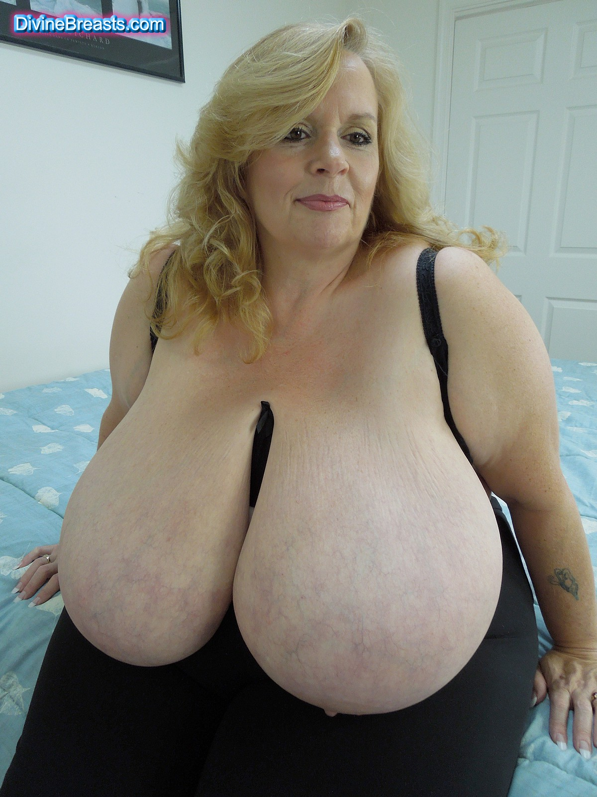 breasted women Heavy mature