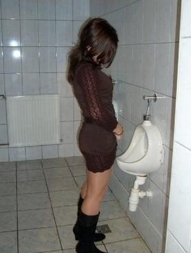 pics Stand porn up pee